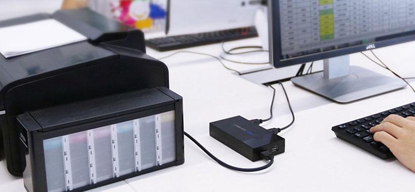 امکان اتصال پرینتر و دیگر دستگاه ها به سوییچ یوگرین
