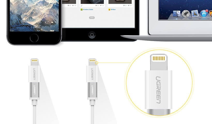 Ugreen Lightning to Micro USB Adapter