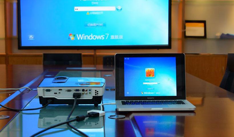 مبدل Mini DP به VGA+HDMI+DVI یوگرین