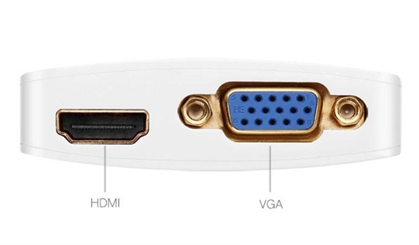 مبدل Mini DP به VGA+HDMI یوگرین