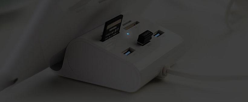 هاب یوگرین مجهز به نشانگر LED