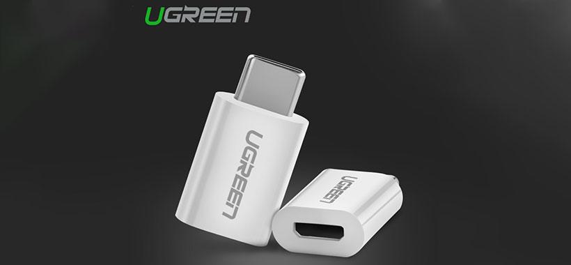 مبدل Type C به Micro USB A یوگرین