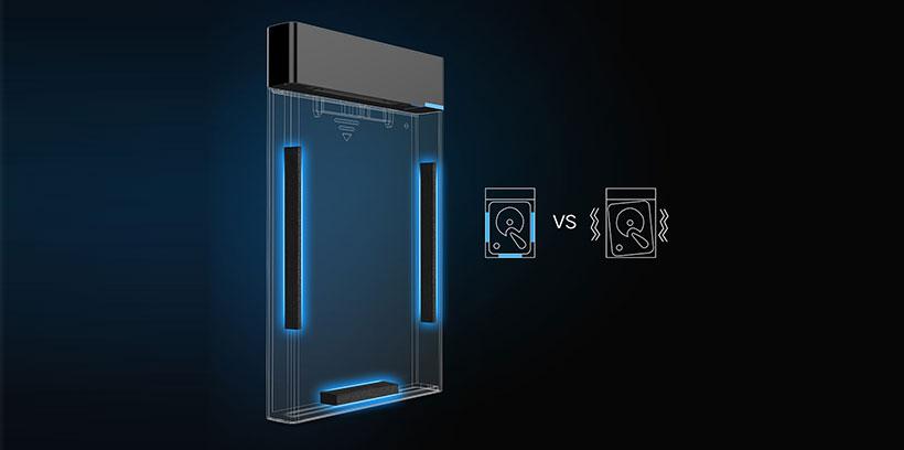 باکس تبدیل هارد داخلی به هارد اکسترنال یوگرین Ugreen USB 3.0 To 2.5 Inch Sata External Hard Drive Enclosure