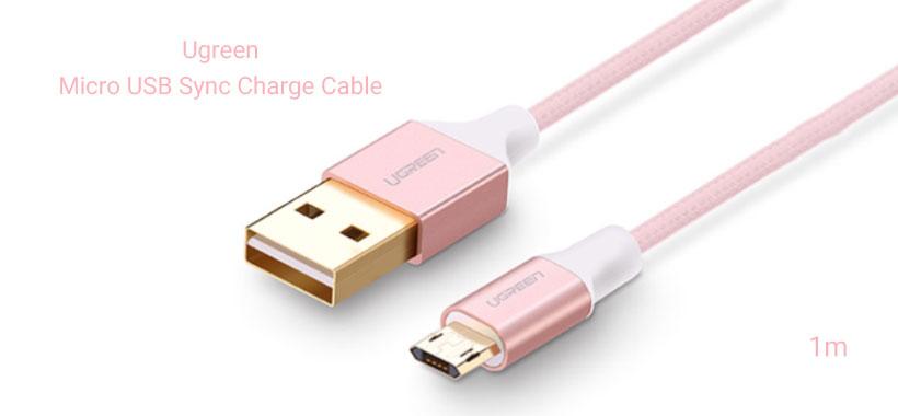 کابل تبدیل USB به Micro USB یوگرین