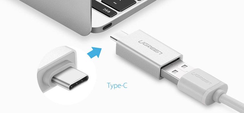 مبدل Type C به USB A یوگرین