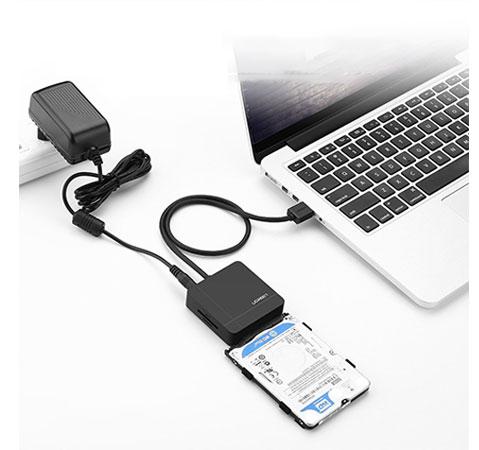 هاب یواس بی و کارتخوان یوگرین Ugreen USB3 To Sata3 Adaptor With Card Reader
