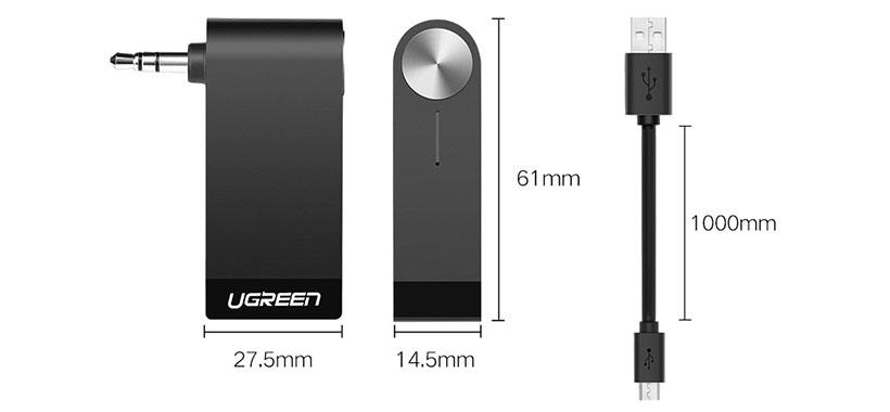گیرنده صوتی یوگرین با ابعاد کوچک و قابل حمل