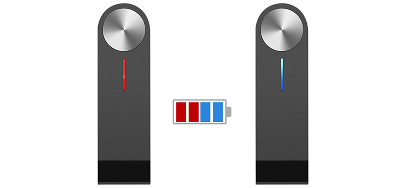 آداپتور گیرنده صوتی مجهز به نشانگر LED