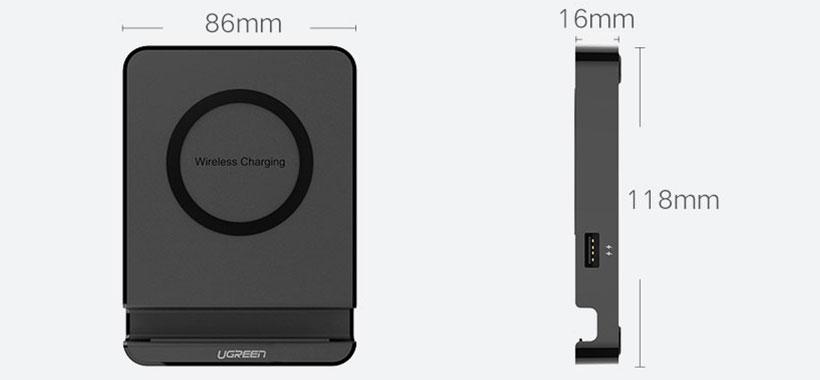 یوگرین شارژ بی سیم کوچک و قابل حمل