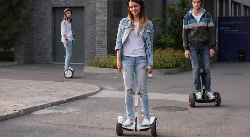 نحوه استفاده اسکوتر شیائومی Ninebot Mini Pro Scooter