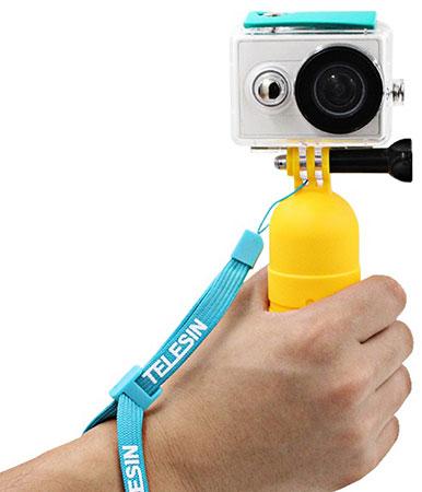 پایه دوربین دستی شیائومی Telesin Yi Hand Held Floaty Grip For Xiaomi Yi