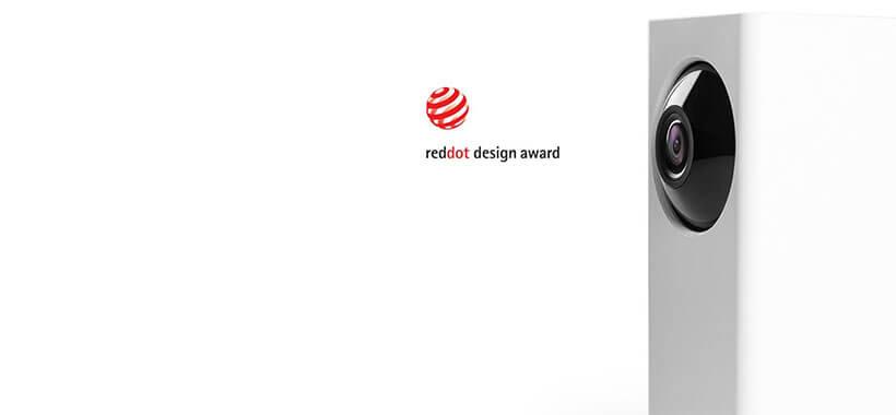 دوربین شیائومی دریافت جایزه reddot به لحاظ طراحی