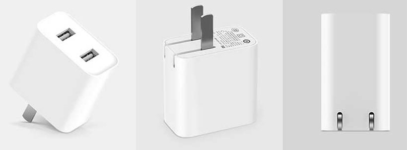 آداپتور شارژ سریع 2 پورت شیائومی Xiaomi 2 USB CDQ03ZM Charger