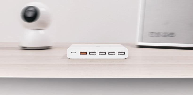 شارژر 6 پورت شیائومی Xiaomi 60W USB Charger