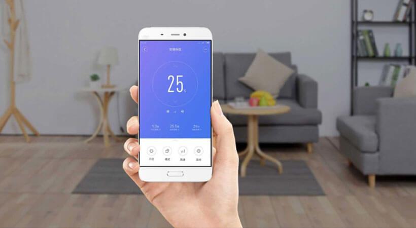 اپلیکیشن سیستم دستیار تهویه هوا خانگی