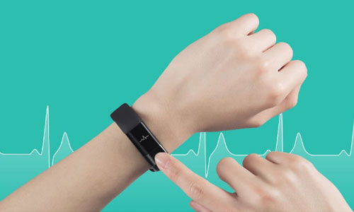 اسمارت بند سلامتی شیائومی  huami amazfit مجهز به سنسور ضربان قلب