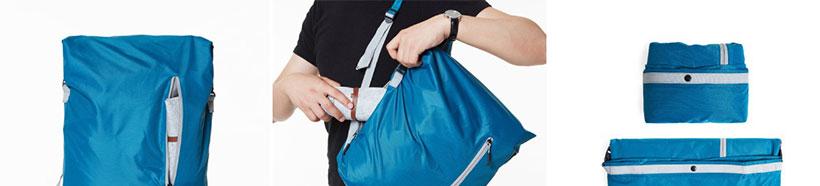 کوله پشتی شیائومی با محفظه های مختلف برای طبقه بندی وسایل