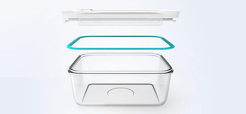 محفظه عایق و ایزوله ظرف شیشه ای شیائومی