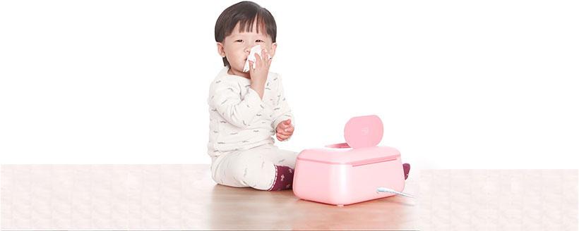 کاربری آسان دستگاه مرطوب کننده دستمال شیائومی