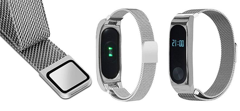 بند فلزی دستبند سلامتی Xiaomi Mi Band 2