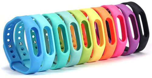 دستبند اضافی Mi Band 2 در رنگبندی زیبا و متنوع