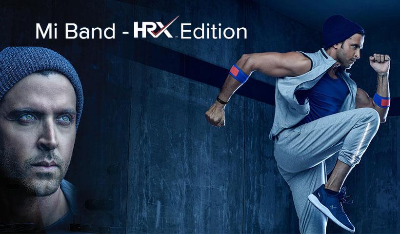 دستبند سلامتی شیائومی Mi Band HRX Edition