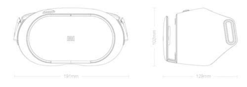هدست واقعیت مجازی شیائومی Xiaomi Mi VR Play2 Headset