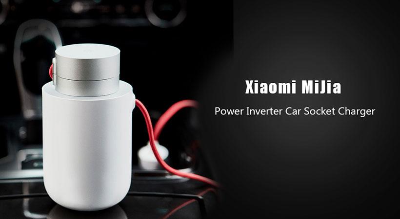 شارژر فندکی و اینورتر خودرو شیائومی Xiaomi Mijia 100W Car Inverter