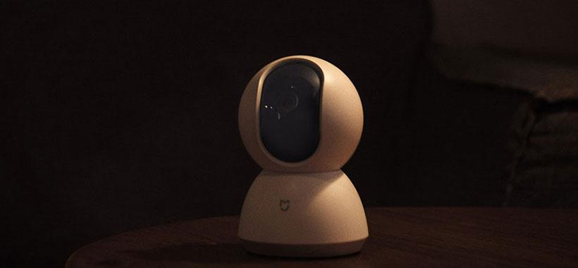 دوربین نظارتی شیائومی مجهز به مادون قرمز برای دید در شب
