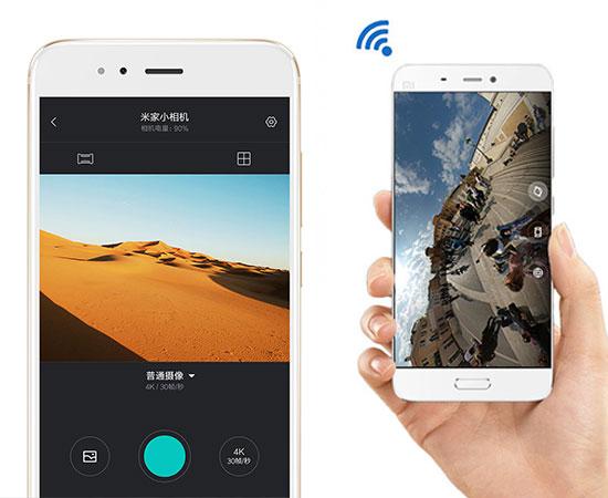 دوربین ورزشی شیائومی دارای اپلیکیشن اختصاصی