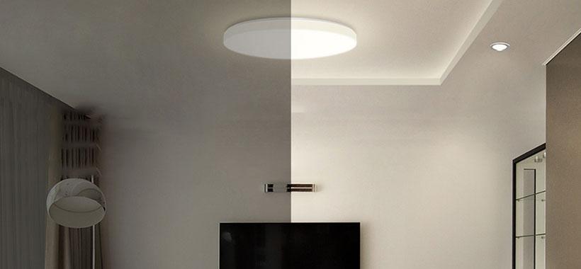 چراغ هوشمند شیائومی با نور ملایم و مطبوع