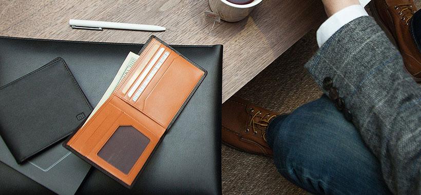 کیف پول شیائومی با طراحی زیبا