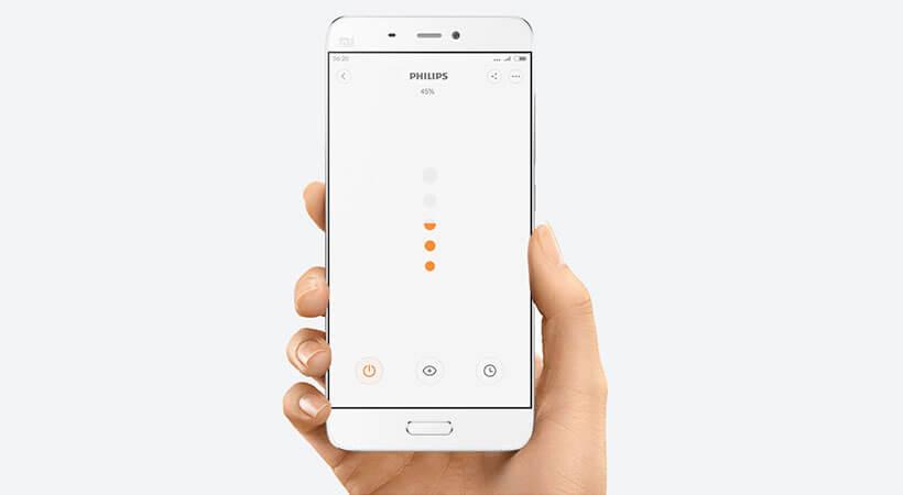 امکان کنترل چراغ مطالعه شیائومی با اپلیکیشن