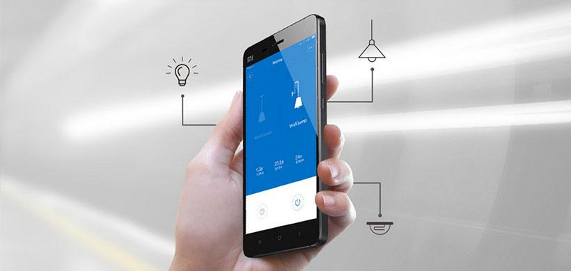 امکان کنترل لامپها با اپلیکیشن لامپ و کلید شیائومی