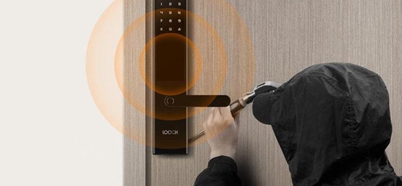سیستم زنگ هشدار برای قفل درب شیائومی