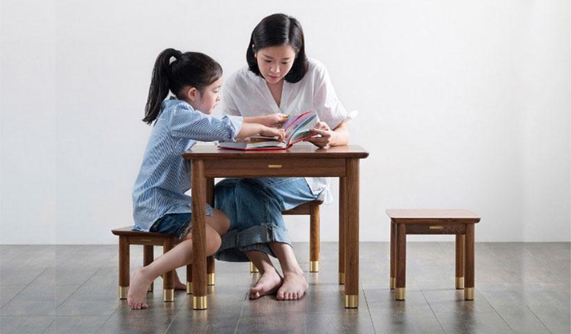 ست میز و صندلی چوبی کودک شیائومی