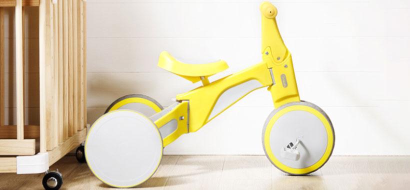 ابعاد کوچک و طراحی فشرده سه چرخه شیائومی