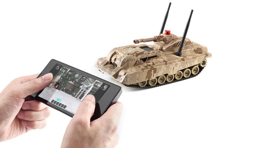 کنترل تانک شیائومی از طرق اپلیکیشن روی گوشی