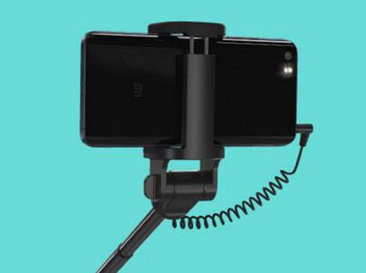 رابط جک 3.5 میلیمتری برای اتصال مونوپاد شیائومی با گوشی