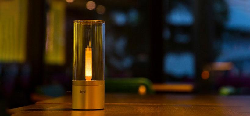 شمع هوشمند شیائومی قابل استفاده در کافه و هتل