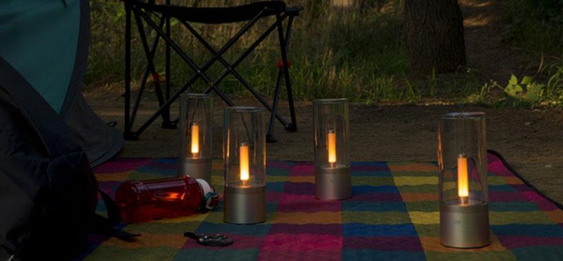 چراغ شیائومی مناسب برای اردو و سفر