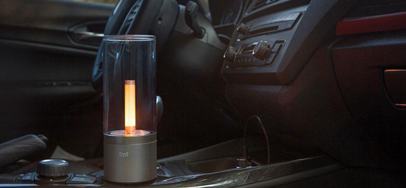 چراغ هوشمند شیائومی قابل استفاده در ماشین