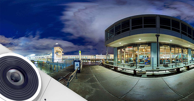 دوربین 360 درجه پانورامیک شیائومی