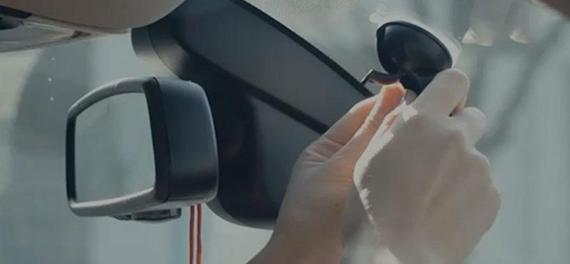 نصب و راه اندازی آسان دوربین ماشین شیائومی