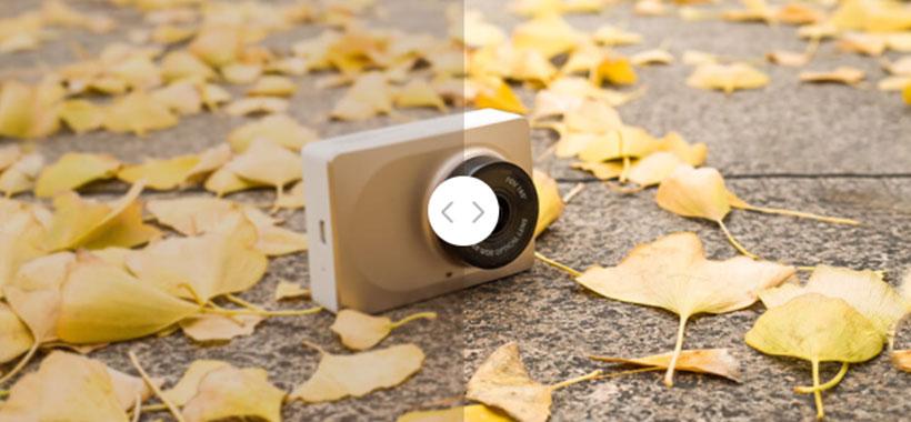 دوربین ماشین شیائومی با کیفیت بالا و ثبت تصاویر دقیق