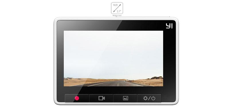 دوربین ماشین شیائومی با کلیدهای لمسی و آیکون های بزرگ