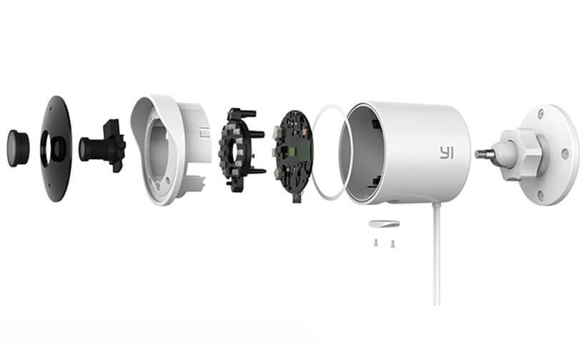 دوربین نظارتی فضای باز شیائومی با کیفیت تصویر 1080 پیکسل