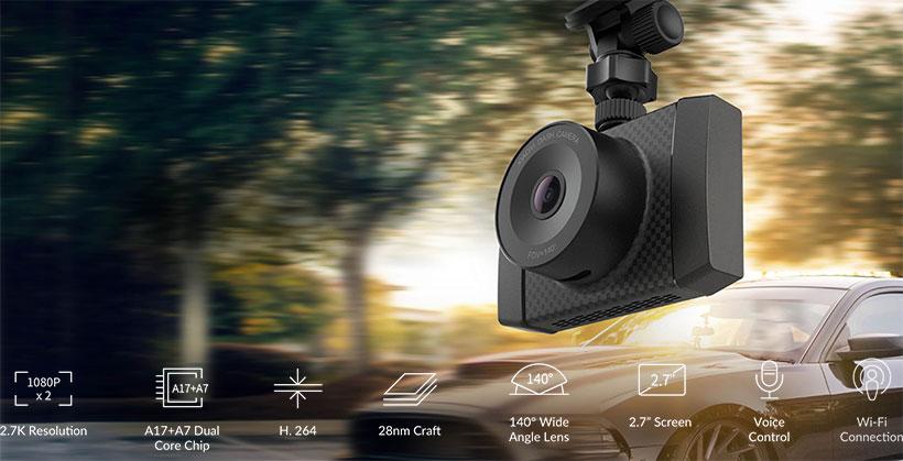 دوربین ماشین شیائومی مدل Yi Ultra Dash Camera