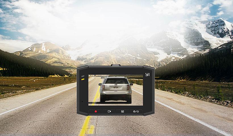 صفحه نمایش بزرگ 2.7 اینچی دوربین خودرو شیائومی