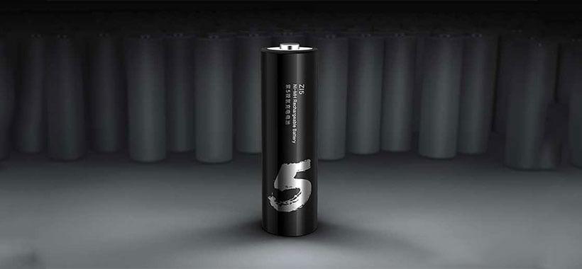 باتری قلمی قابل شارژ شیائومی